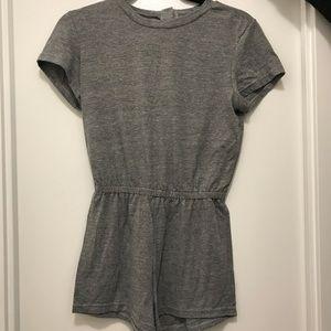 American Apparel Romper - Athletic Grey Jersey